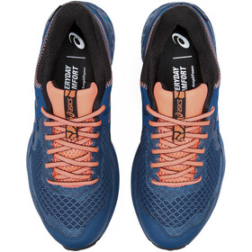 asics Gel-Sonoma 4 G-TX Shoes Women mako blue/sun coral